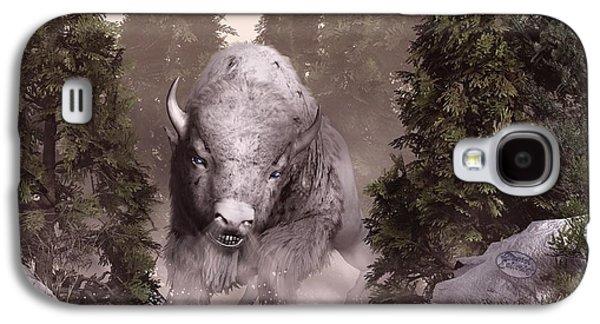 The White Buffalo Galaxy S4 Case by Daniel Eskridge