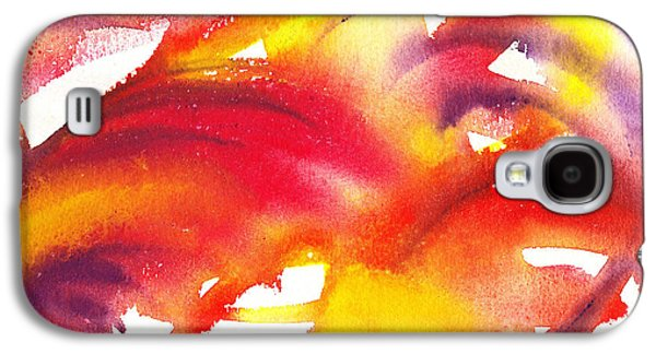 The Wings Of Light Abstract Galaxy S4 Case by Irina Sztukowski
