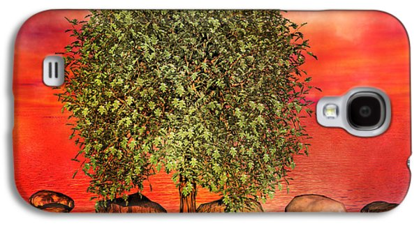 The Wishing Tree One Of Two Galaxy S4 Case by Betsy Knapp