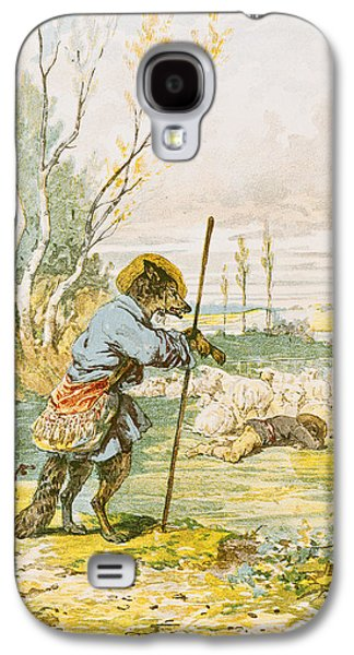 The Wolf As A Shepherd Galaxy S4 Case