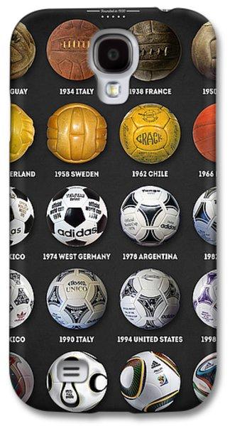 The World Cup Balls Galaxy S4 Case by Taylan Apukovska