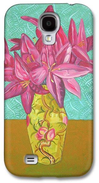 The Yellow Vase Galaxy S4 Case by John Keaton
