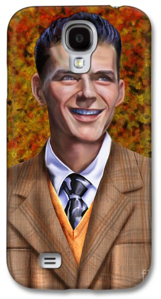 The Young Chairman - Sinatra Galaxy S4 Case by Reggie Duffie