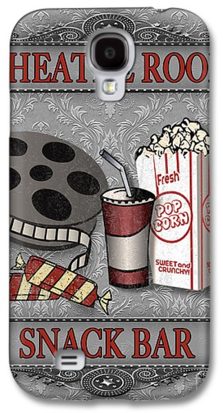 Theatre Room-jp2207 Galaxy S4 Case by Jean Plout
