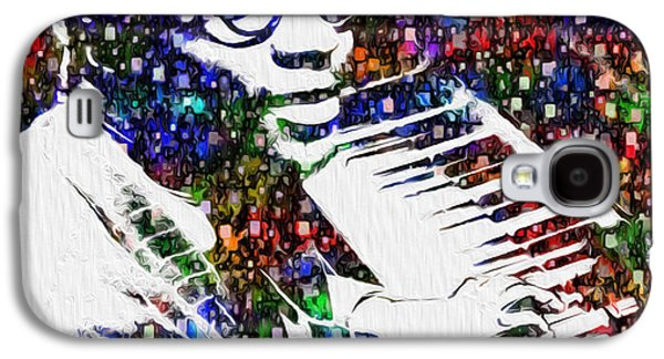 Thelonious Monk Galaxy S4 Case by Jack Zulli