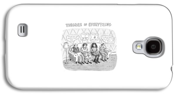 Theories Of Everything: 'everything's Gone Galaxy S4 Case by Roz Chast