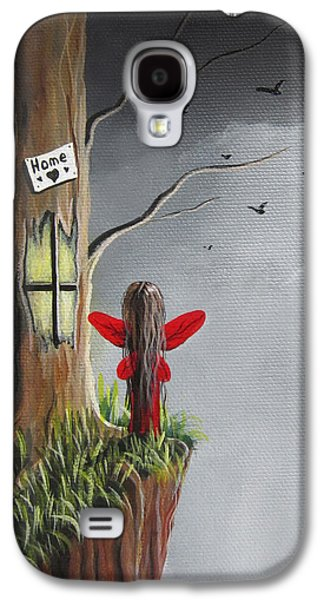 Fairy Art Print - Original Fantasy Artwork Galaxy S4 Case by Shawna Erback