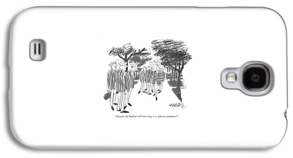There's Old Begley - Still Marching Galaxy S4 Case