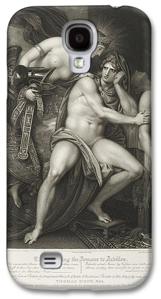 Thetis Bearing The Armour To Achilles Galaxy S4 Case