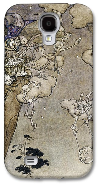 They Were Ruled By An Old Squaw Spirit Galaxy S4 Case by Arthur Rackham