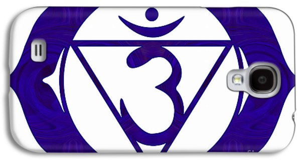 Third Eye Number Two Abstract Chakra Art By Omaste Witkowski  Galaxy S4 Case
