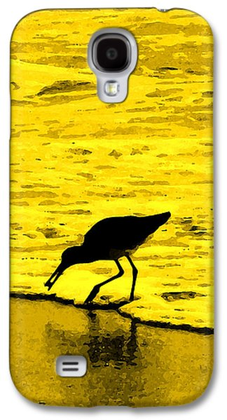 Sandpiper Galaxy S4 Case - This Beach Belongs To Me by Ian  MacDonald