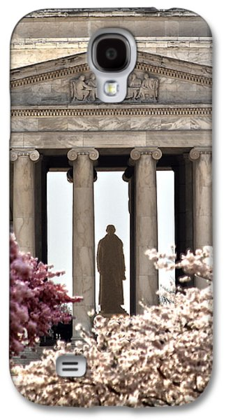 Jefferson Memorial Galaxy S4 Case - Thomas Jefferson by Mitch Cat