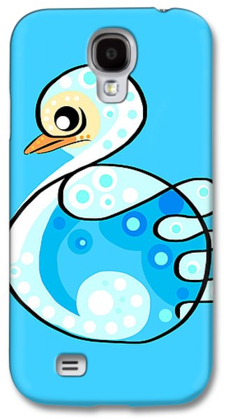 Thoughts And Colors Series Duckling Galaxy S4 Case by Veronica Minozzi