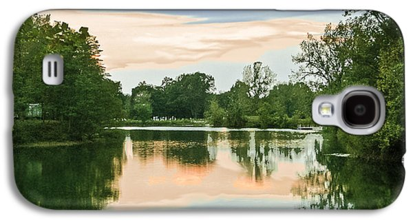 Thousand Trails Horseshoe Lake Galaxy S4 Case by Bob and Nadine Johnston