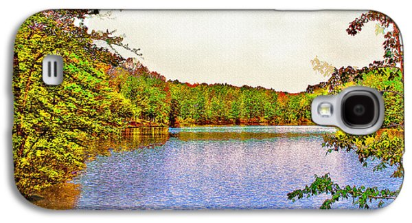 Thousand Trails Preserve Natchez Lake  Galaxy S4 Case by Bob and Nadine Johnston