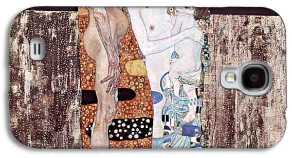 Three Ages Of Woman Galaxy S4 Case by Gustive Klimt