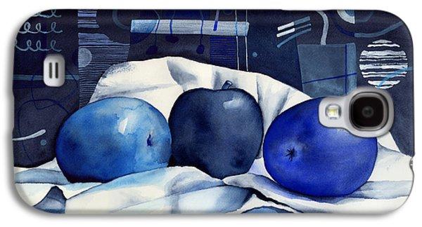 Three Apples Galaxy S4 Case by Hailey E Herrera