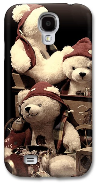 Three Bears Creative Galaxy S4 Case by Linda Phelps