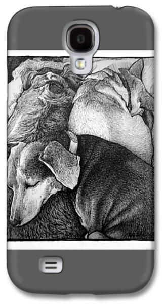 Three Dog Night Galaxy S4 Case by Lorraine Zaloom