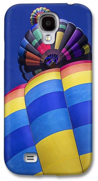 Three Hot Air Balloons Galaxy S4 Case by Garry Gay