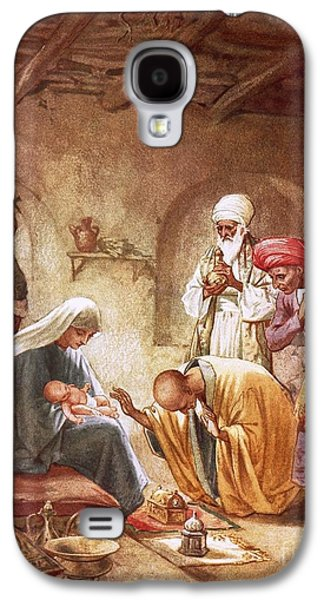 Three Kings Worship Christ Galaxy S4 Case by William Brassey Hole
