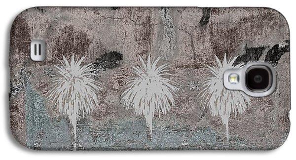 Three Palms Oasis Galaxy S4 Case by Carol Leigh