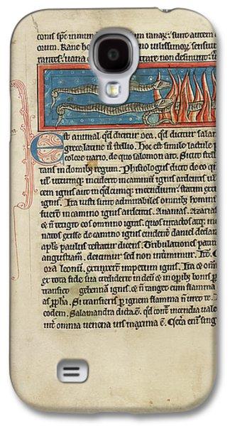 Salamanders Galaxy S4 Case - Three Salamanders by British Library