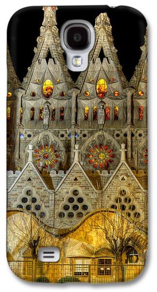 Three Tiers - Sagrada Familia At Night - Gaudi Galaxy S4 Case