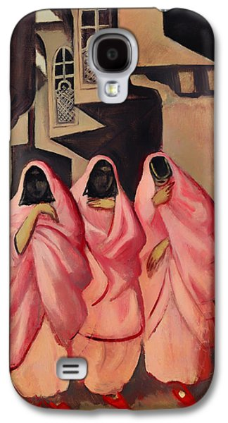 Three Women On The Street Of Baghdad Galaxy S4 Case by Mountain Dreams