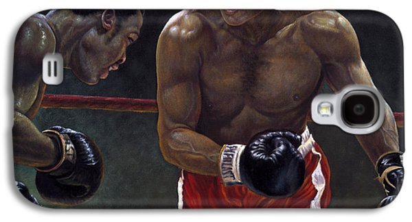 Thrilla In Manilla Galaxy S4 Case by Gregory Perillo
