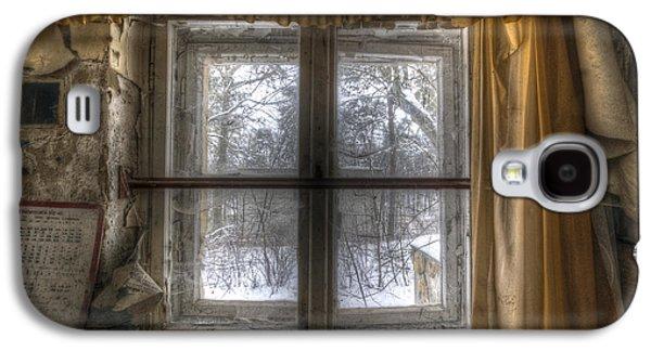 Through The Dirty Window Galaxy S4 Case