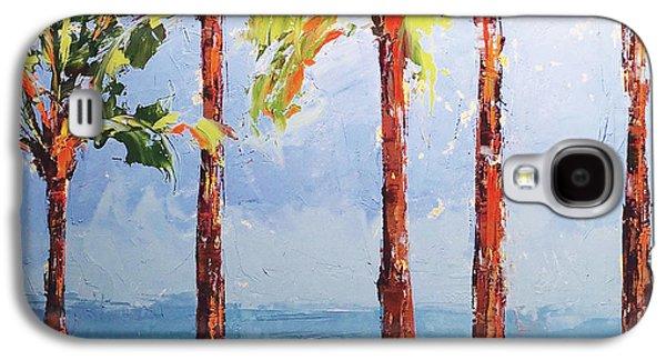 Through The Palms Galaxy S4 Case by Leslie Saeta