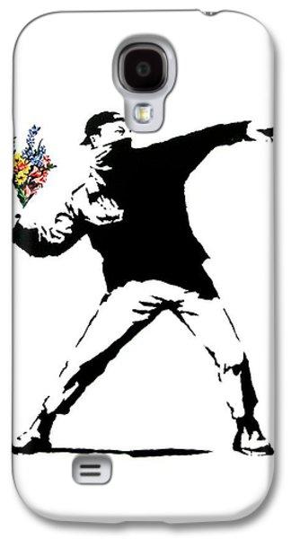 Throwing Love Galaxy S4 Case by Munir Alawi