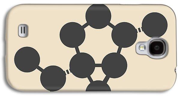 Thujone Absinthe Molecule Galaxy S4 Case by Molekuul
