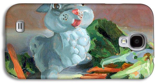 Lettuce Galaxy S4 Case - Thumper's Bounty by Marguerite Chadwick-Juner