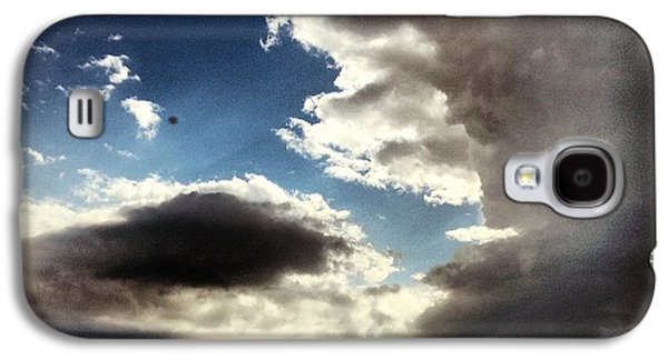 Sky Galaxy S4 Case - Thunder Clouds by Christy Beckwith