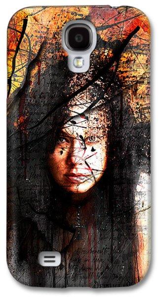 Thy Sins Like Scarlet Galaxy S4 Case by Gary Bodnar