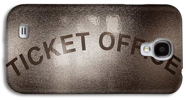 Ticket Office Window Galaxy S4 Case