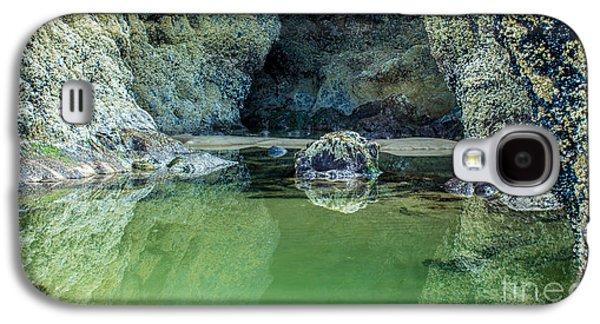 Tidepool Shades Of Green At Sunrise Galaxy S4 Case