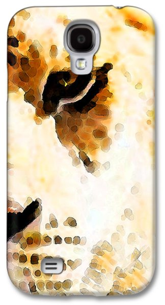 Tiger Art - Pride Galaxy S4 Case by Sharon Cummings