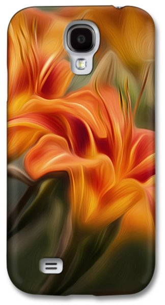 Tiger Lily Galaxy S4 Case by Bill Wakeley