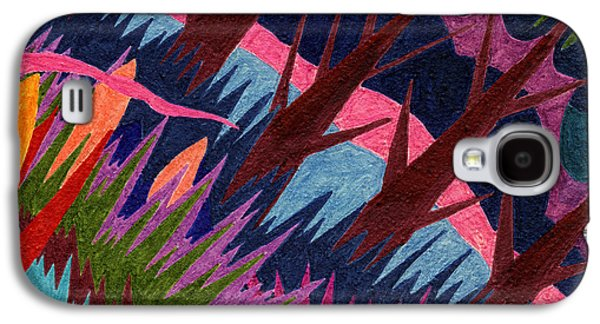 Tile 37 - These Woods Are Lovely Galaxy S4 Case by Sean Corcoran