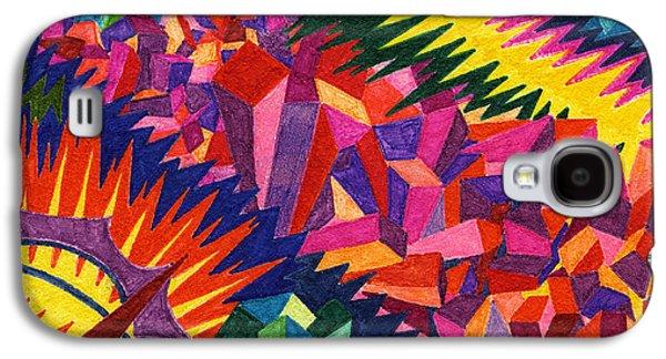 Tile 38 - The Montevideo Wavelength Episode Galaxy S4 Case by Sean Corcoran