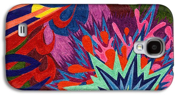 Tile 46 - Look At The Flowers Galaxy S4 Case by Sean Corcoran