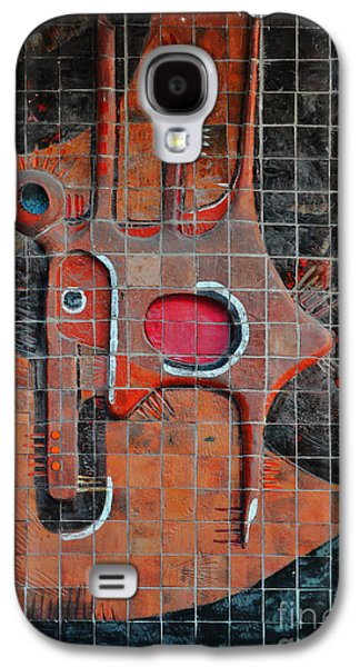 Tile Cubism - Spain Galaxy S4 Case by Mary Machare