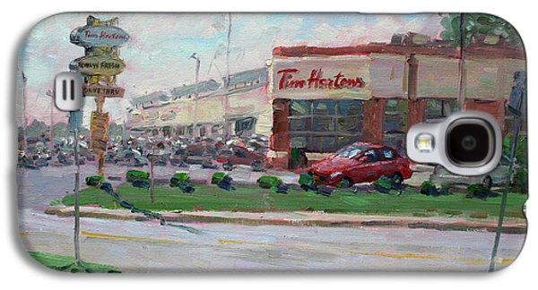 Tim Hortons By Niagara Falls Blvd Where I Have My Coffee Galaxy S4 Case