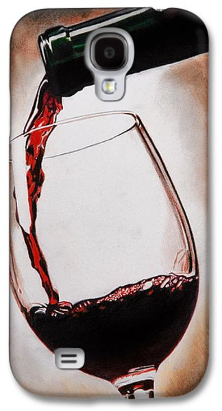 Time For Wine Galaxy S4 Case
