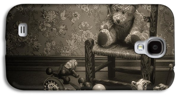 Time Out - A Teddy Bear Still Life Galaxy S4 Case by Tom Mc Nemar