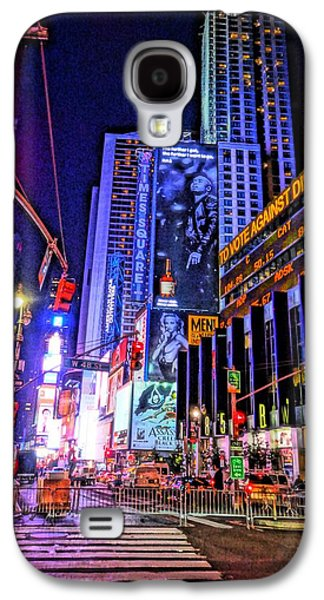Times Square Galaxy S4 Case by Dan Sproul
